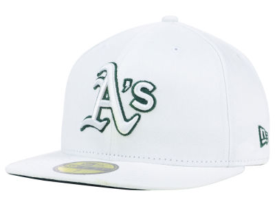 Oakland Athletics MLB White On Color 59FIFTY Cap Hats