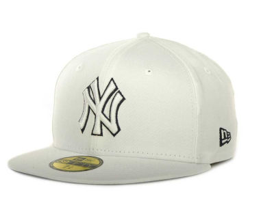 New York Yankees MLB White On Color 59FIFTY Cap Hats