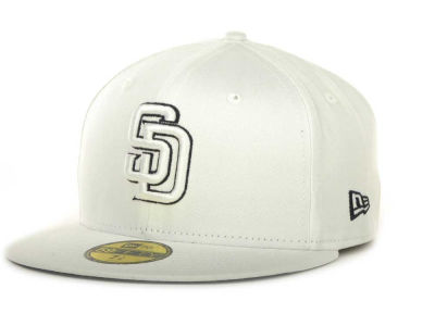 San Diego Padres MLB White On Color 59FIFTY Cap Hats