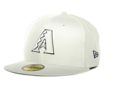 Arizona Diamondbacks MLB White On Color 59FIFTY Cap Hats