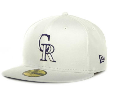 Colorado Rockies MLB White On Color 59FIFTY Cap Hats