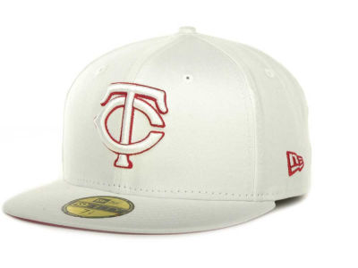 Minnesota Twins MLB White On Color 59FIFTY Cap Hats