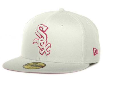 Chicago White Sox MLB White On Color 59FIFTY Cap Hats