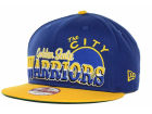 Golden State Warriors New Era NBA Hardwood Classics Splitier 9FIFTY Snapback Adjustable Hats