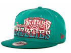 Vancouver Grizzlies New Era NBA Hardwood Classics Splitier 9FIFTY Snapback Cap Adjustable Hats