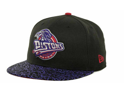Detroit Pistons NBA Hardwood Classics Sneak Up 59FIFTY Cap Hats