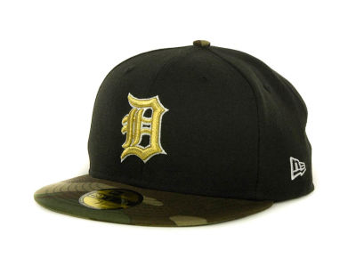 Detroit Tigers MLB Team Camo 59FIFTY Cap Hats