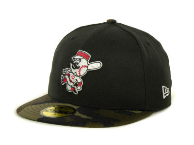 Cincinnati Reds MLB Team Camo 59FIFTY Cap Hats
