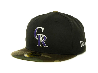 Colorado Rockies MLB Team Camo 59FIFTY Cap Hats