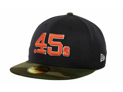 Houston Colt 45s MLB Team Camo 59FIFTY Cap Hats