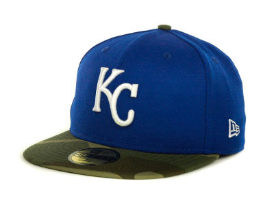 Kansas City Royals MLB Team Camo 59FIFTY Cap Hats