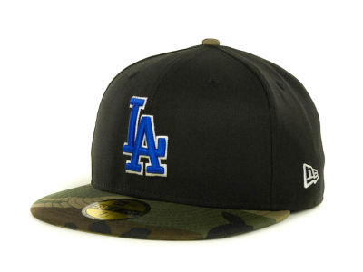 Los Angeles Dodgers MLB Team Camo 59FIFTY Cap Hats