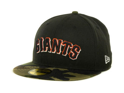 San Francisco Giants MLB Team Camo 59FIFTY Cap Hats