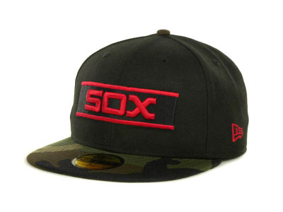 Chicago White Sox MLB Team Camo 59FIFTY Cap Hats