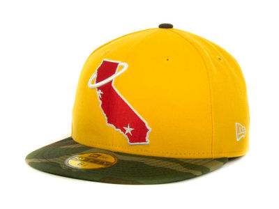 Los Angeles Angels of Anaheim MLB Team Camo 59FIFTY Cap Hats