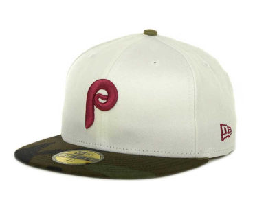 Philadelphia Phillies MLB Team Camo 59FIFTY Cap Hats