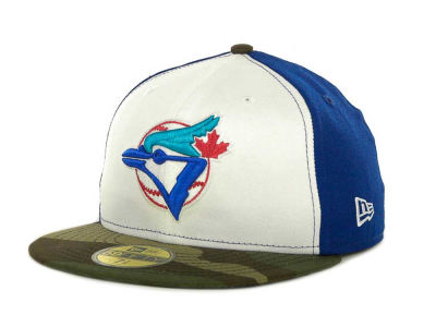 Toronto Blue Jays MLB Team Camo 59FIFTY Cap Hats