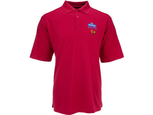Louisville Cardinals Antigua 2013 Sugar Bowl Pique Xtra Lite Polo