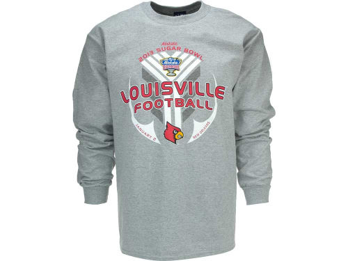 Louisville Cardinals Blue 84 12 NCAA Bowl Bound IWIS Long Sleeve T-Shirt