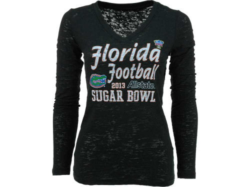Florida Gators Blue 84 2013 Sugar Bowl Womens Long Sleeve T-Shirt