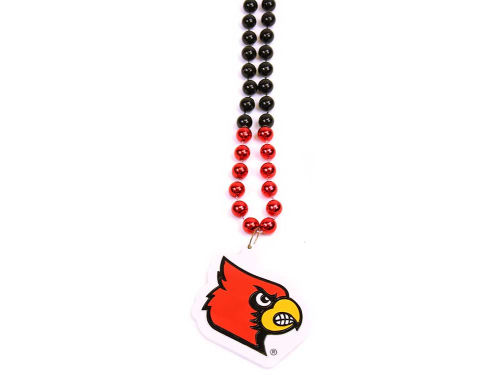 Louisville Cardinals Rico Industries Team Logo Beads-Rico