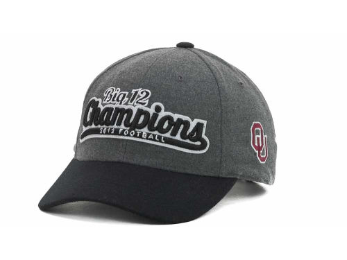 Oklahoma Sooners Top of the World NCAA 2012 BIG 12 Football Champs Hats