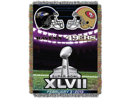 Super Bowl XLVII Northwest Company NFL Super Bowl XLVII Field View Dueling Tapestry