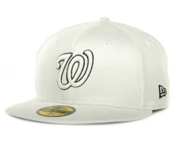 Washington Nationals MLB White On Color 59FIFTY Cap Hats