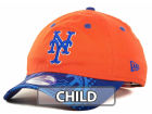 New York Mets New Era MLB Hidden Halftone Cap Adjustable Hats