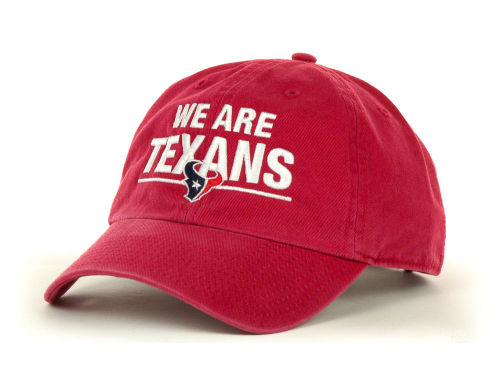 Houston Texans '47 Brand NFL We Are Clean Up Cap Hats