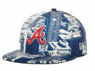 Atlanta Braves New Era MLB Full Vista 59FIFTY Cap Fitted Hats