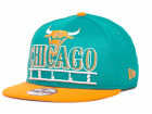 Chicago Bulls New Era NBA Hardwood Classics Stack Punch Snap 9FIFTY Cap Snapback Hats
