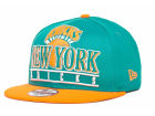 New York Knicks New Era NBA Hardwood Classics Stack Punch Snap 9FIFTY Cap Snapback Hats