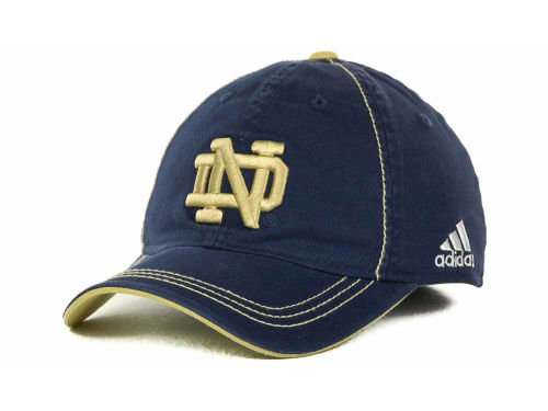 Notre Dame Fighting Irish adidas Notre Dame Coaches Slope Flex Cap Hats