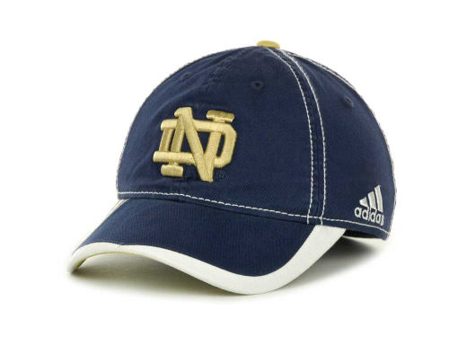 Notre Dame Fighting Irish adidas Notre Dame Players Slope Flex Cap Hats