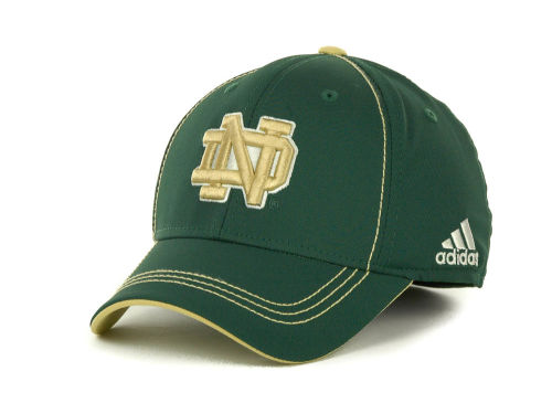 Notre Dame Fighting Irish adidas Notre Dame Coaches Structured Flex Cap Hats