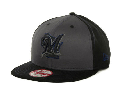 Milwaukee Brewers MLB SnapInPop Snapback 9FIFTY Cap Hats