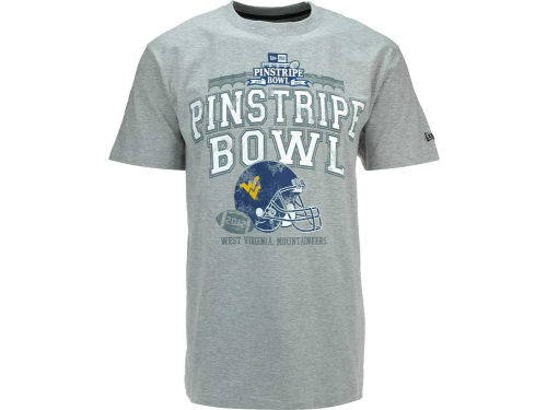 West Virginia Mountaineers New Era 2012 Pinstripe Bowl Team T-Shirt