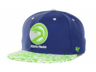 '47 Brand NBA Hardwood Classics Print Time Snapback Cap Adjustable Hats