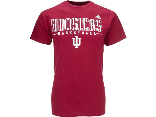 Indiana Hoosiers adidas NCAA Candy Stripe Text T-Shirt