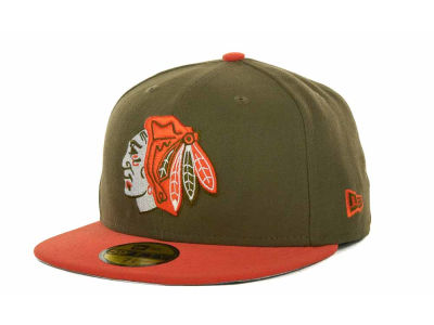 Chicago Blackhawks NHL Custom 59FIFTY Cap Hats