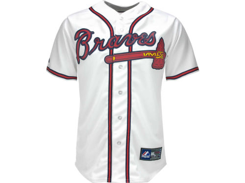 Atlanta Braves B.J. Upton Majestic MLB Player Replica Jersey