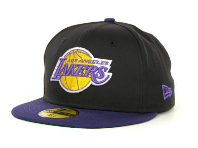 Los Angeles Lakers NBA Youth Hardwood Classics Basic 59FIFTY Cap Hats