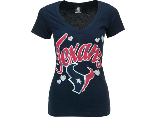 Houston Texans 5th and Ocean NFL Womens Baby Jersey Tunic