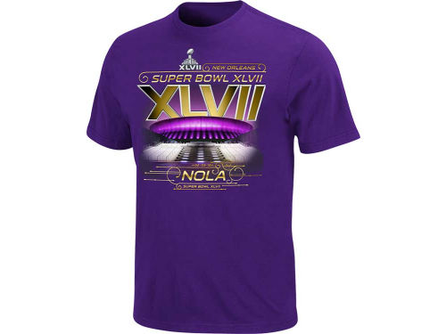 Super Bowl XLVII VF Licensed Sports Group NFL Super Bowl XLVII Drive the Line T-Shirt