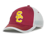 USC Rusty Flex Cap Stretch Fitted Hats