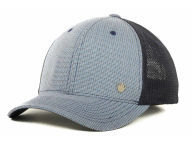 No Bad Ideas NBI Small Check Stretch Mesh Cap Stretch Fitted Hats