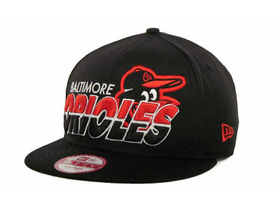 Baltimore Orioles MLB Team Horizon Snapback 9FIFTY Cap Hats
