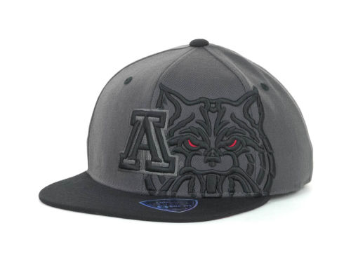 Arizona Wildcats Top of the World NCAA Slam Dunk One Fit Cap Hats