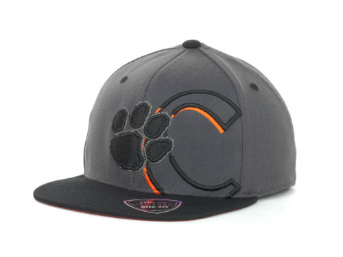 Clemson Tigers Top of the World NCAA Slam Dunk One Fit Cap Hats